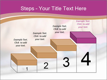 Girl playing with the tablet PowerPoint Template - Slide 64