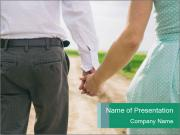 Couple in love PowerPoint Template