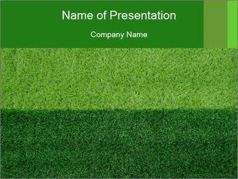 Grass field PowerPoint Template - Slide 1