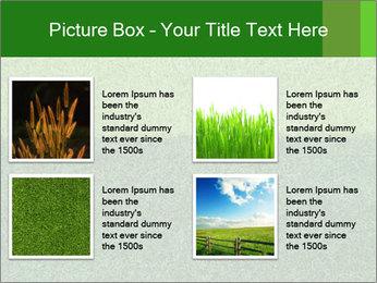 Grass field PowerPoint Template - Slide 14