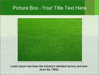 Grass field PowerPoint Template - Slide 15