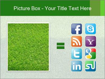 Grass field PowerPoint Template - Slide 21