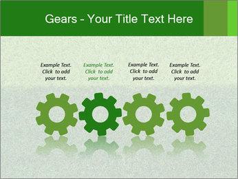Grass field PowerPoint Template - Slide 48