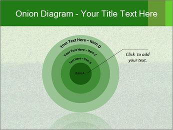 Grass field PowerPoint Template - Slide 61