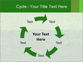 Grass field PowerPoint Template - Slide 62