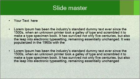 Grass field PowerPoint Template - Slide 2