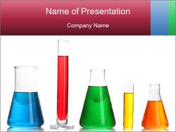 Test tubes Modèles des présentations  PowerPoint