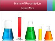 Test tubes PowerPoint Template