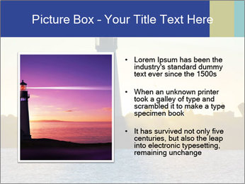 Lighthouse Silhouette PowerPoint Template - Slide 13