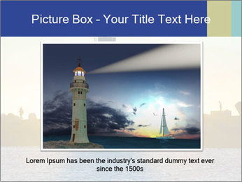 Lighthouse Silhouette PowerPoint Template - Slide 15