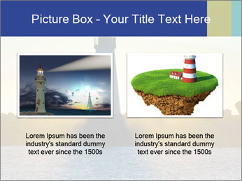 Lighthouse Silhouette PowerPoint Template - Slide 18