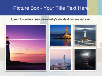 Lighthouse Silhouette PowerPoint Template - Slide 19
