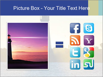 Lighthouse Silhouette PowerPoint Template - Slide 21