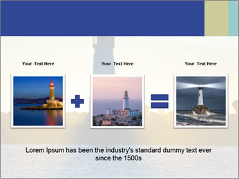 Lighthouse Silhouette PowerPoint Template - Slide 22