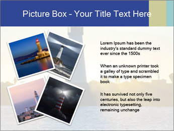 Lighthouse Silhouette PowerPoint Template - Slide 23