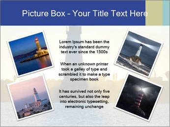 Lighthouse Silhouette PowerPoint Template - Slide 24