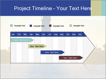 Lighthouse Silhouette PowerPoint Template - Slide 25