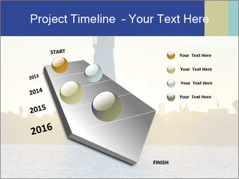 Lighthouse Silhouette PowerPoint Template - Slide 26