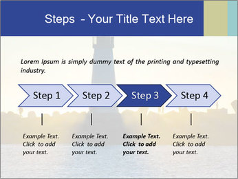 Lighthouse Silhouette PowerPoint Template - Slide 4