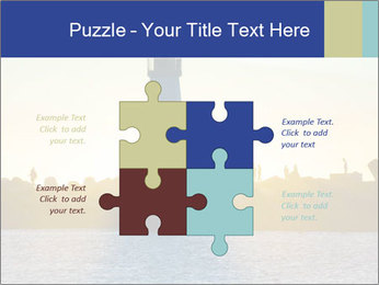 Lighthouse Silhouette PowerPoint Template - Slide 43