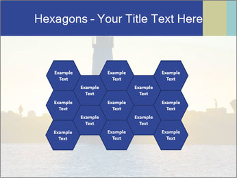 Lighthouse Silhouette PowerPoint Template - Slide 44