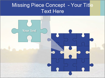 Lighthouse Silhouette PowerPoint Template - Slide 45