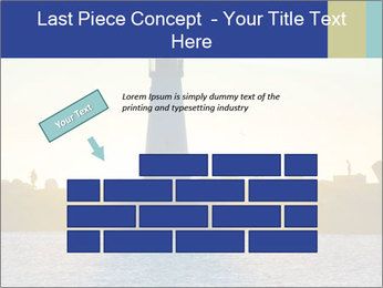 Lighthouse Silhouette PowerPoint Template - Slide 46