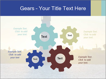 Lighthouse Silhouette PowerPoint Template - Slide 47