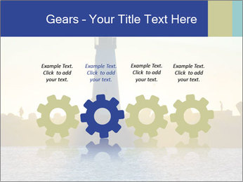 Lighthouse Silhouette PowerPoint Template - Slide 48