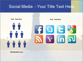 Lighthouse Silhouette PowerPoint Template - Slide 5