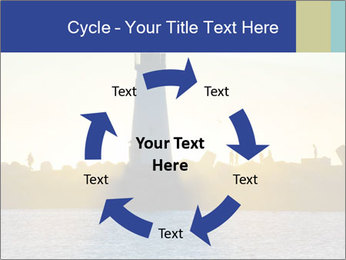 Lighthouse Silhouette PowerPoint Template - Slide 62
