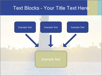 Lighthouse Silhouette PowerPoint Template - Slide 70