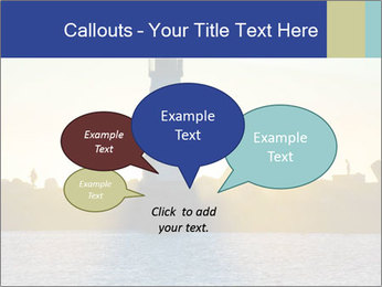 Lighthouse Silhouette PowerPoint Template - Slide 73