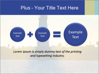 Lighthouse Silhouette PowerPoint Template - Slide 75