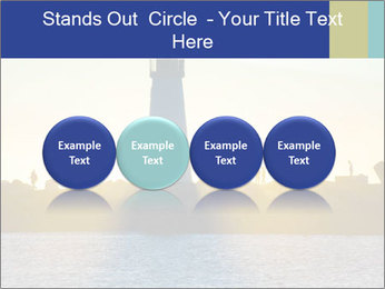 Lighthouse Silhouette PowerPoint Template - Slide 76