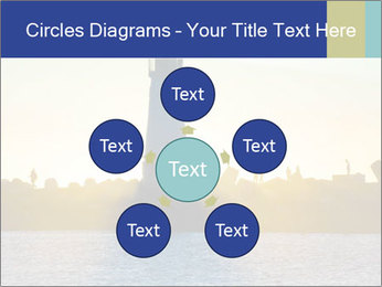 Lighthouse Silhouette PowerPoint Template - Slide 78