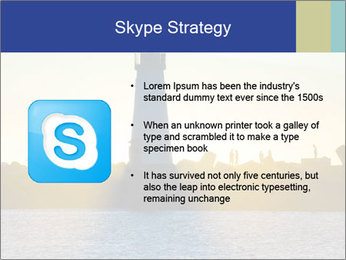 Lighthouse Silhouette PowerPoint Template - Slide 8