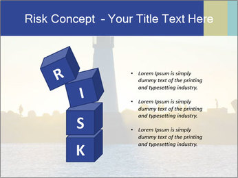 Lighthouse Silhouette PowerPoint Template - Slide 81