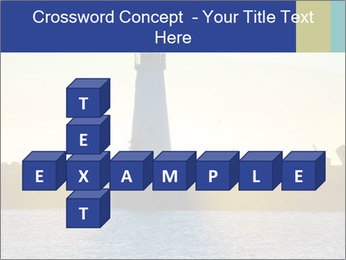 Lighthouse Silhouette PowerPoint Template - Slide 82