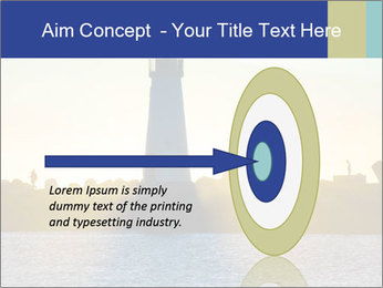 Lighthouse Silhouette PowerPoint Template - Slide 83