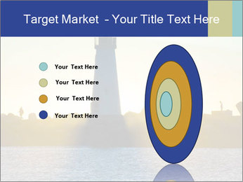 Lighthouse Silhouette PowerPoint Template - Slide 84