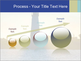 Lighthouse Silhouette PowerPoint Template - Slide 87