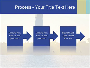 Lighthouse Silhouette PowerPoint Template - Slide 88