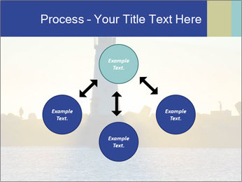 Lighthouse Silhouette PowerPoint Template - Slide 91