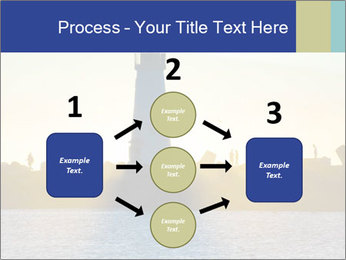 Lighthouse Silhouette PowerPoint Template - Slide 92