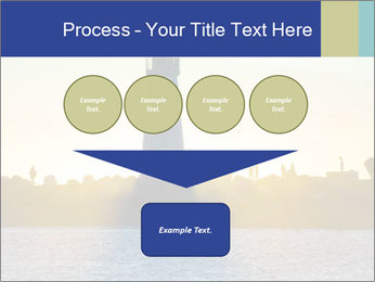 Lighthouse Silhouette PowerPoint Template - Slide 93
