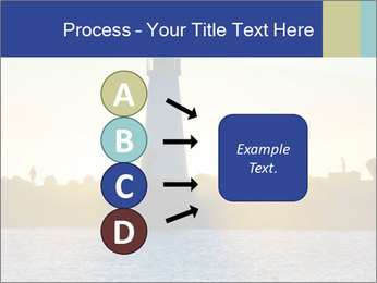 Lighthouse Silhouette PowerPoint Template - Slide 94