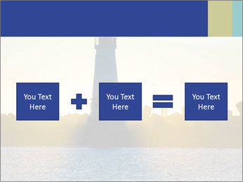 Lighthouse Silhouette PowerPoint Template - Slide 95