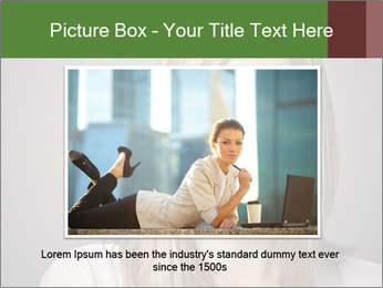 Attractive Woman In Thirties PowerPoint Template - Slide 16