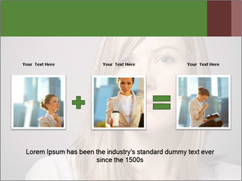 Attractive Woman In Thirties PowerPoint Template - Slide 22